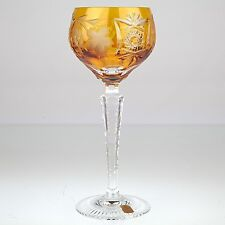 Nachtmann Traube Weinglas Römer 20,7 cm groß Kristall Glas bernstein gelb R3U