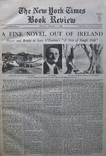 SEAN O'FAOLAIN - NEST OF SIMPLE FOLK MOURNE COUNTY DOWN HAMILTON 1934 January 7