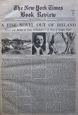 SEAN O'FAOLAIN - NEST OF SIMPLE FOLK MOURNE COUNTY DOWN HAMILTON 1934 January 7