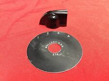 VINTAGE 1969 USA GIBSON EB 3 BASS GUITAR ROTARY SWITCH RING w KNOB 1970 1971