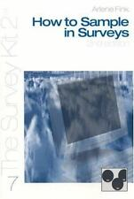 How to Sample in Surveys (The Survey Kit 7)-ExLibrary