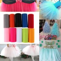 """Tulle Roll Spool 6""""x 25YD Tutu DIY Craft Fabric Wedding Party Decoration EB"""