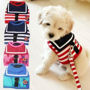Pet Dog Harness Leash Breathable Camouflage Puppy Cat Vest For Small Medium Dogs