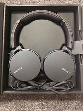 SONY MDRXB550AP/B Extra Bass On-Ear Headphone MDR-XB550AP BLACK - NEW