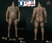 WorldBox 1/6 Durable Body Fat Plump Figure AT018 For Hot Toys WWE U.S.A. SELLER