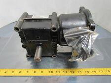 Browning 18C56LR15 Speed Reducer Worm Gear Box 15:1 Ratio 117 RPM 56C Frame LH
