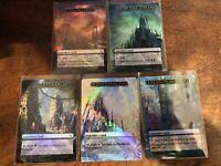 5 Legendary Lands Full Art Dual Land Gaeas Cradle Gaea's Tolarian mtg Magic