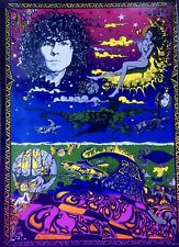 MARC BOLAN T.REX, VINTAGE REPRO PSYCHEDELIC POSTER