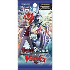 6x  Sovereign Star Dragon: Booster Pack New Sealed Product - Cardfight!! Vanguar