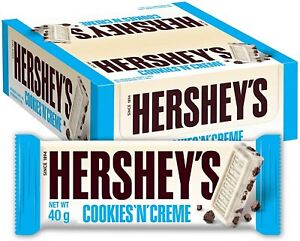 Hershey's Cookies 'n' Crème (Case of 24 x 40g)