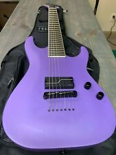 ESP LTD Stephen Carpenter SC-607 Bariton 7-String Guitar, Purple Satin Fluence