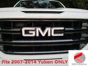 GMC YUKON 2007-2014 Emblem Overlay Decals Grille & Tailgate | PRECUT SET