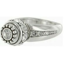 NWT Brighton ANNA TWIST Ring Interchangable Charms Crystals Size 5  MSRP $48