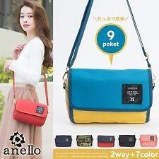 Japan Anello Leisure Fashion Women-Messenger-Shoulder-Bag-Ladies-Casual Handbags