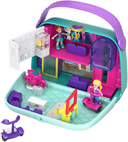 Polly Pocket GCJ86 Pocket World Shopping Mall Compact Play Set, Multi-Colour