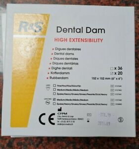 Dental Rubber Dam latex free. Medium