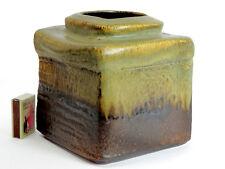Steuler Studio Style Vase Design Heiner Balzar Object Series Lava Glaze Germany