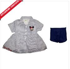 Disney tutina pagliaccetto neonata mezza manica in cotone MINNIE nuova collezione art WD101295