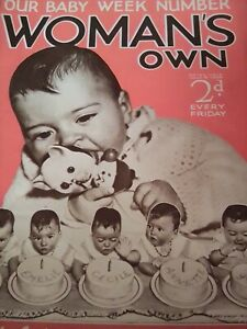Woman's Own Magazine 1930s Vintage