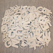 CRAFT WOODEN LETTERS Art DIY Design Project Alphabet Cut-Out 100+ Letters Symbol