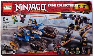 Lego Ninjago Legacy Season 3 SEALED SET 71699 THUNDER RAIDER with 5 minifigures