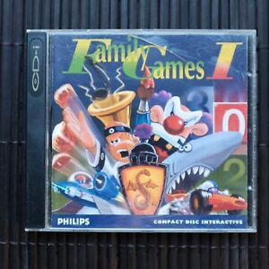 FAMILY GAMES 1 - CD-I - (VIDEO CD)