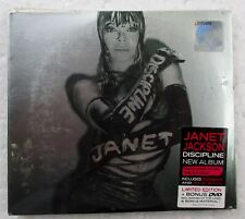 Discipline by Janet Jackson Rare 2008 Malaysia Limited Edition CD+DVD Brand New
