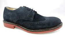 $225 FACONNABLE FRANCE BUCK OXFORD BROGUE WING TIP TOE DRESS Men's 40 7