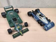 BURAGO 2105 Lotus Martini Racing Scala 1/14 + POLISTIL TYRRELL FK12 P34/2 ELF...