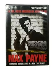 Max Payne (PC, 2001) Classic Complete in Box Rockstar Games 3D Realms CD-ROM