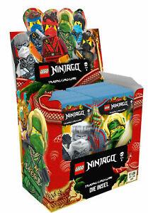 Lego® Ninjago™ 6 Trading Cards DIE INSEL - Display mit 50 x Booster NEU