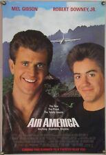AIR AMERICA ROLLED ORIG 1SH MOVIE POSTER MEL GIBSON ROBERT DOWNEY, JR. (1990)