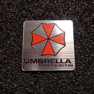 Umbrella Corporation Resident Evil Logo Label Decal Case Sticker Badge [467d]