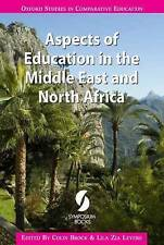 Aspects of Education in the Middle East and North Africa (Oxford Studies in Comp