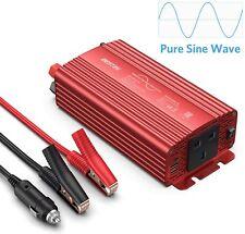 BESTEK 500W Pure Sine Wave Power Inverter DC 12V to AC 230V 240V with 4.2A Dual