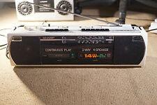 SHARP WQ-268E RADIO E DOPPIO REGISTRATORE A CASSETTE
