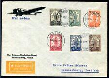 PORTUGAL 1931 559-564 auf herrlichem SATZ BRIEF (D7125