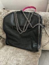 Black Chain Tote Bag