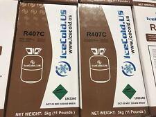 R407C-Refrigerant -11 lb Cylinder**** 11 Pound 407C FACTORY SEALED