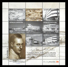 Dominican Buildings Designed by the Architect Guillermo Sanchez MNH 2018 NEW