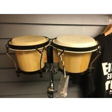 More details for latin percussion (lp) bongos plus stand, secondhand