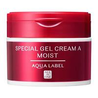 Shiseido Aqualabel Special Gel Cream Moist All-in-One Facial Moisturizer 90g