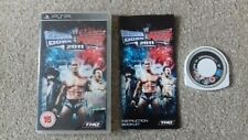 Sony PSP Game smackdown vs raw 2011