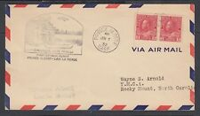 CANADA 1932 FIRST FLIGHT COVER PRINCE ALBERT TO LAC LA RONGE SASK AAMC #3215a