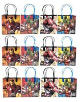 Marvel Avengers Assemble Birthday Party Favor Goody Gift Treat Candy Loot Bags