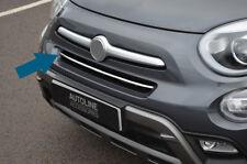 Chrome Pare Choc Avant Calandre Accent Bordure Housse Bande pour s'adapter FIAT 500X (2014+)