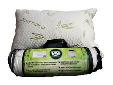 Bamboo Memory Foam Pillow For Sleeping Side Back Stomach by Cuddle-Pedic