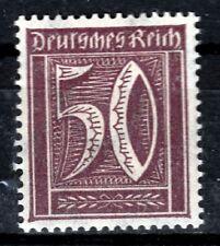 DR 183 B **, 50 PF. cifra, Marrone Porpora, Gepr. gestio