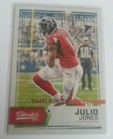 2016 Panini Classics Julio Jones Bronze Timeless Tributes Insert Card S# /99