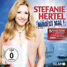 STEFANIE HERTEL - MOMENT MAL  CD + DVD NEU